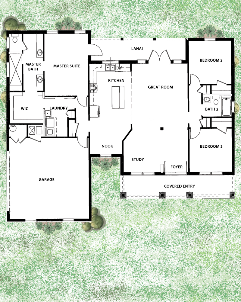 Laurel Floorplan