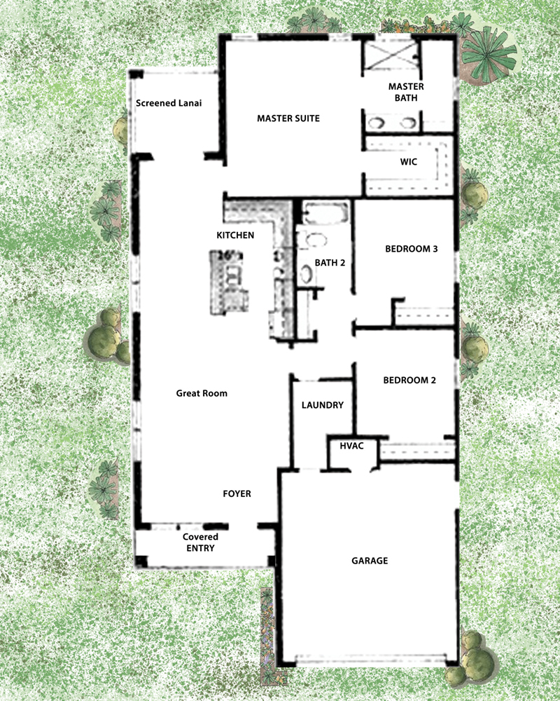 Remington II Floorplan